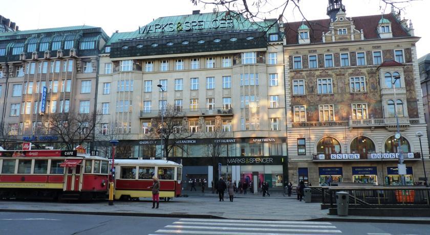 Apartamentos Jizera perto da Praça Venceslau em Praga