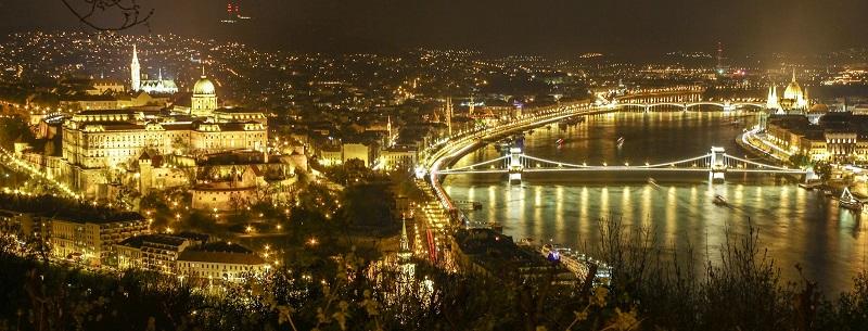 O que fazer à noite em Budapeste na Hungria
