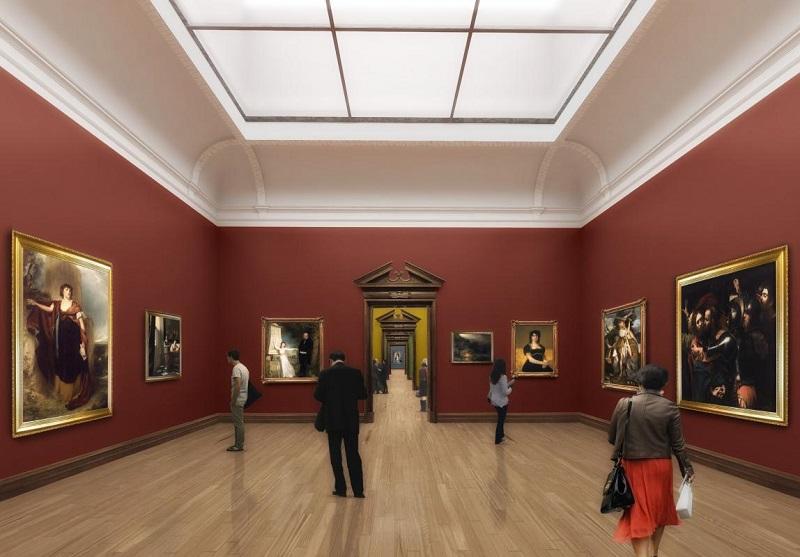 Exposição na Galeria Nacional da Irlanda