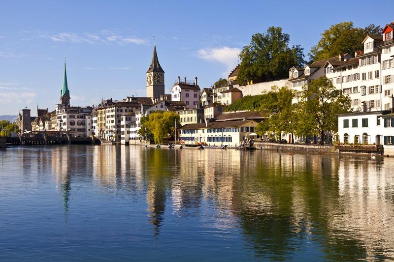 Pontos Turísticos em Zurique na Suíça
