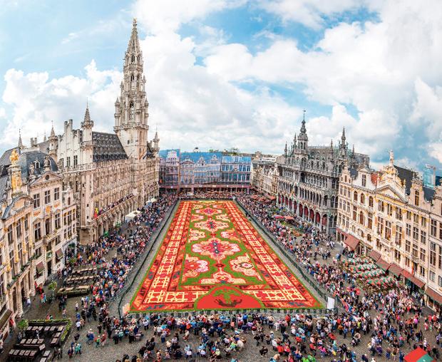 Roteiro de quatro dias em Bruxelas na Bélgica