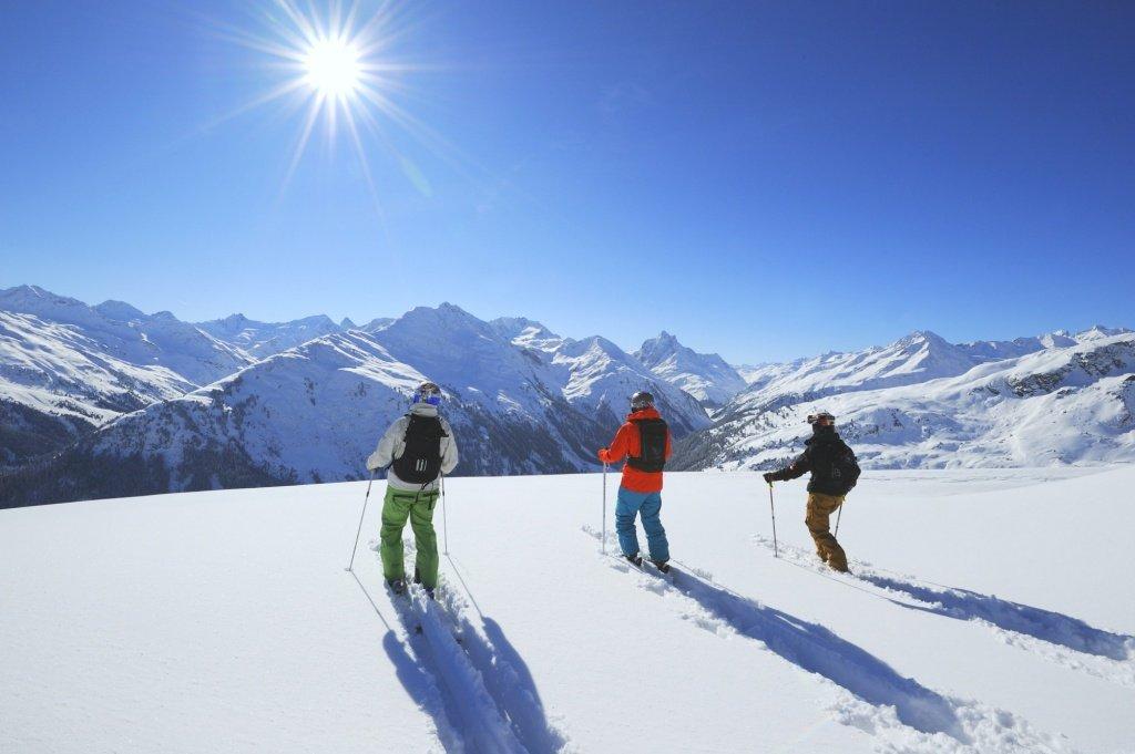 Onde esquiar na Áustria