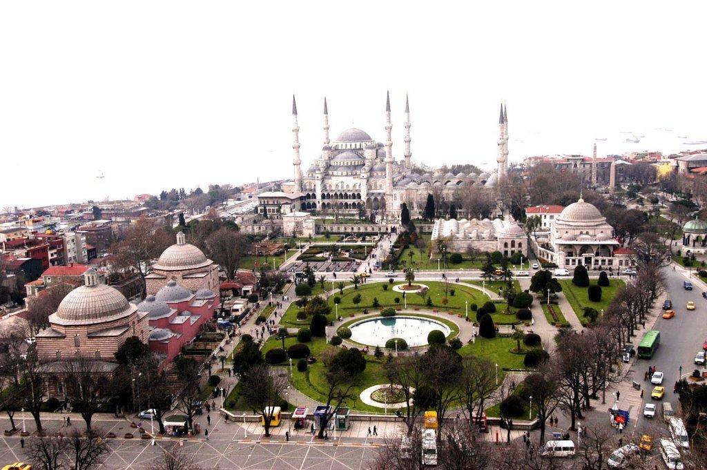 Distrito de Sultanahmet em Istambul
