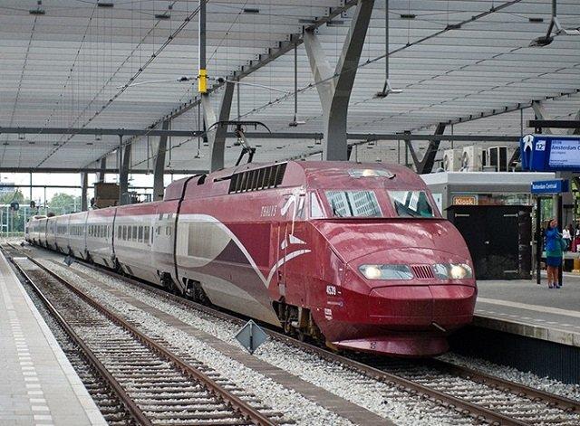 Viagens de trem pela Bélgica