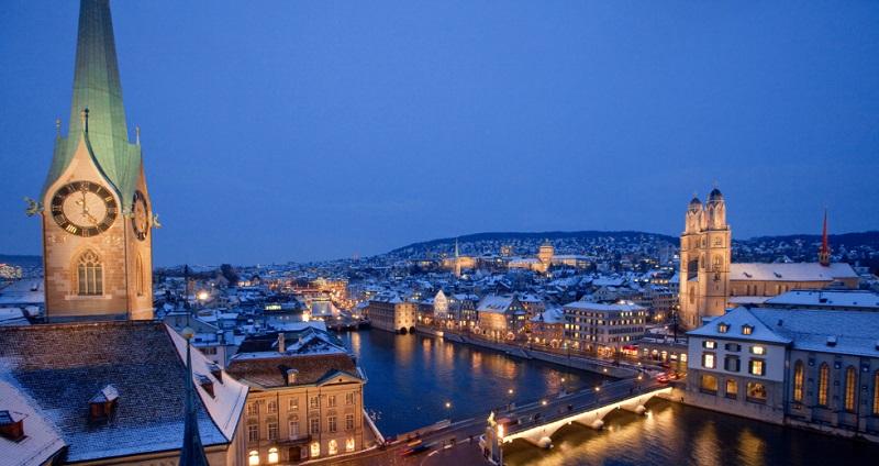 O que fazer à noite em Zurique na Suíça