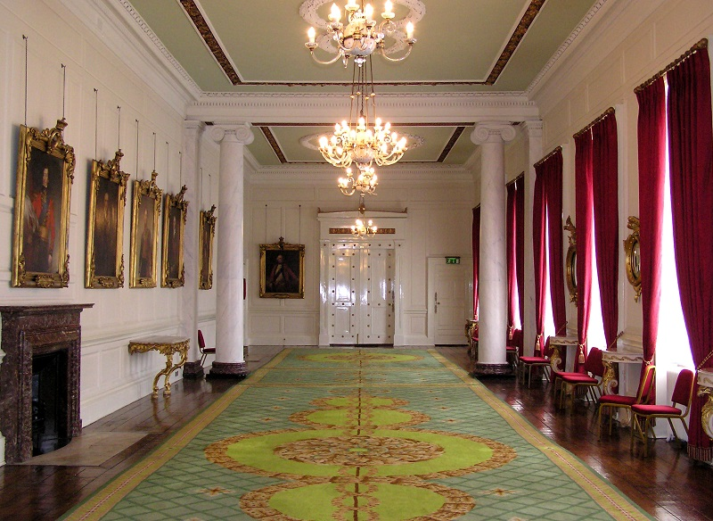 Interior do Castelo de Dublin