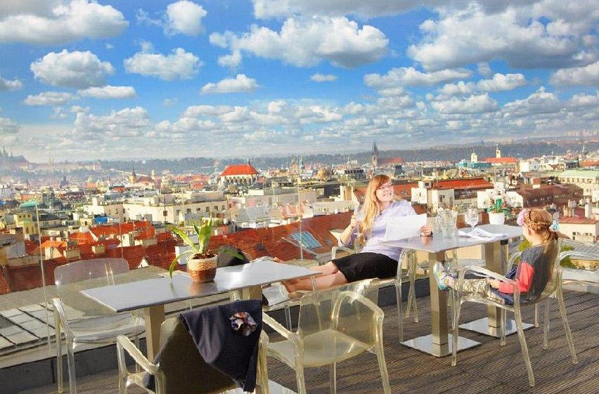 Hotel Wenceslas Square perto da Praça Venceslau em Praga