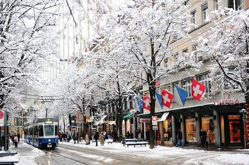Inverno em Zurique