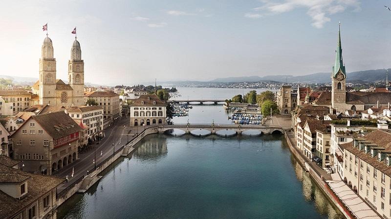 Verão em Zurique