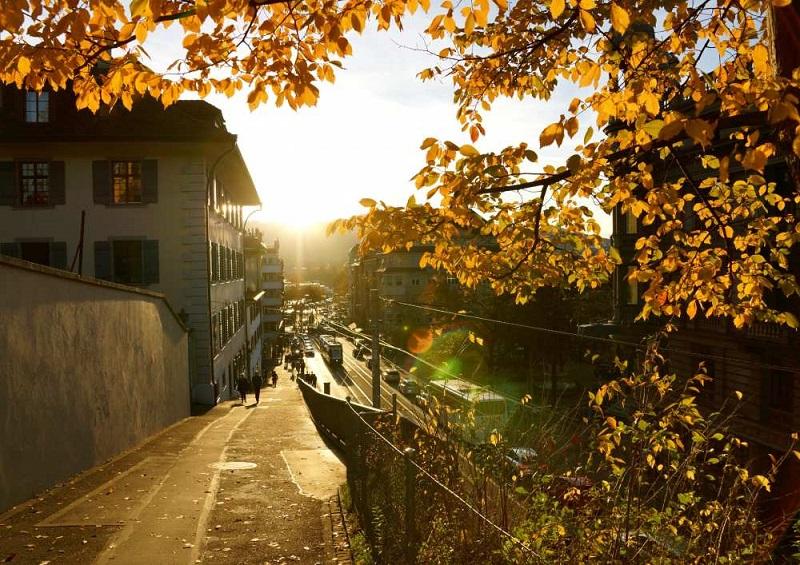 Outono em Zurique