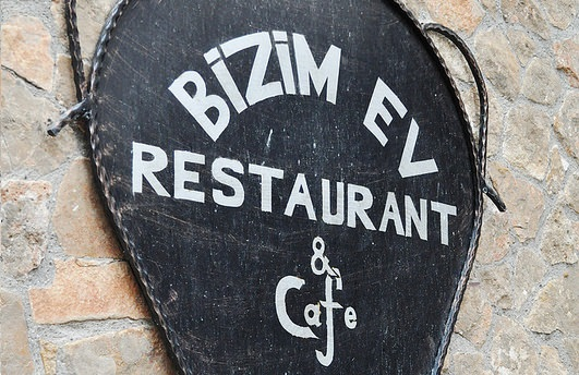 Restaurante Bizim Ev na Capadócia