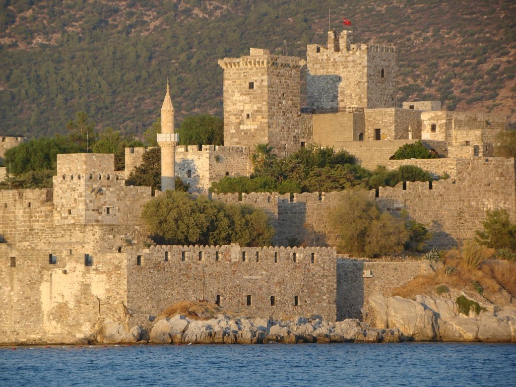Castelo de São Pedro em Bodrum na Turquia