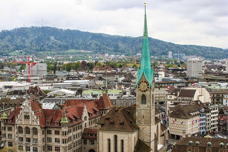 Fraumünster em Zurique