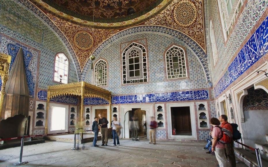 Harén do Palácio Topkapi em Istambul