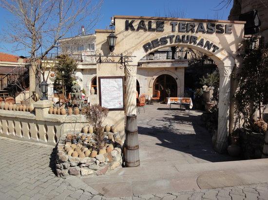 Restaurante Kale Terasse na Capadócia