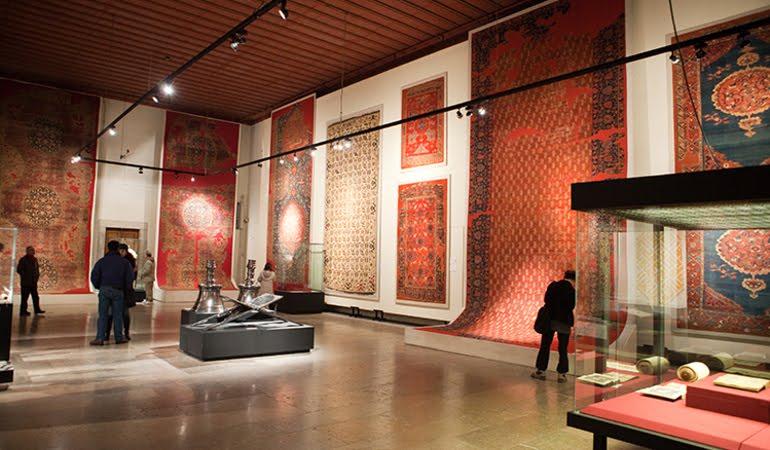 Museu de Arte Turca e Islâmica em Istambul na Turquia