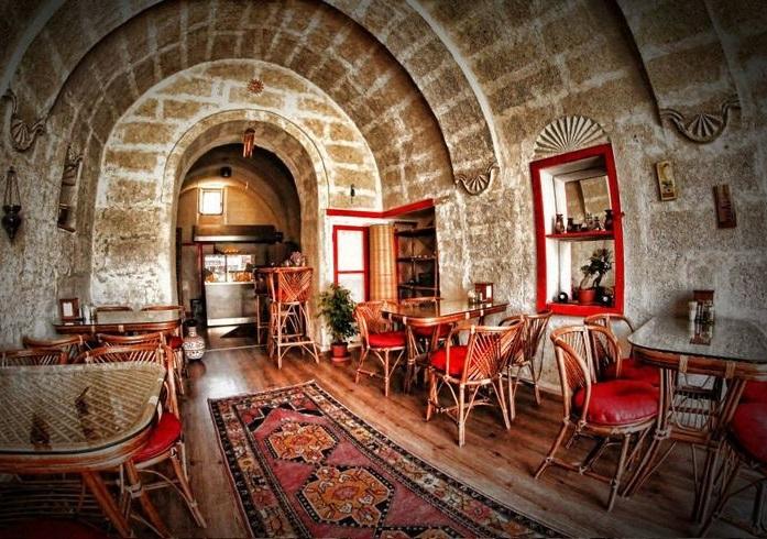 Restaurante My Mother's na Capadócia