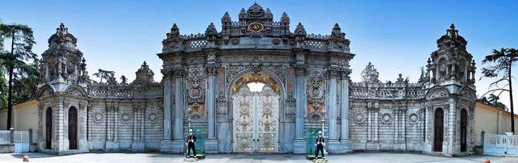 Palácio Dolmabahce em Istambul na Turquia
