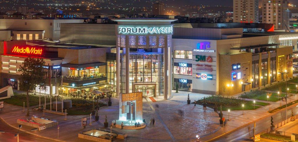 Shopping Forum Kayseri na Capadócia na Turquia