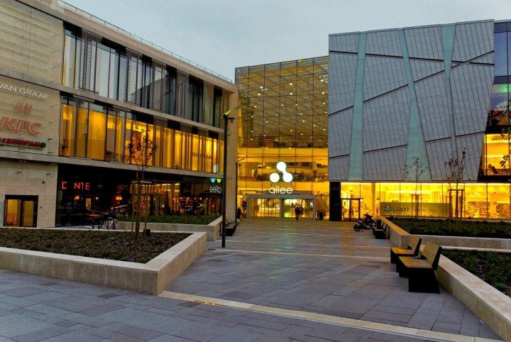 Shopping Allee Center em Budapeste