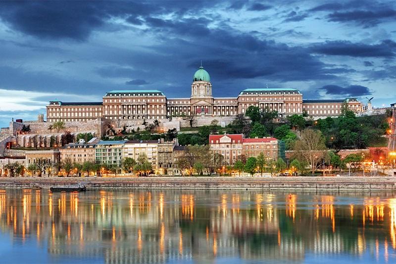 Castelo Buda em Budapeste