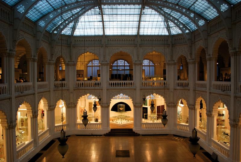 Interior do Museu de Artes Aplicadas