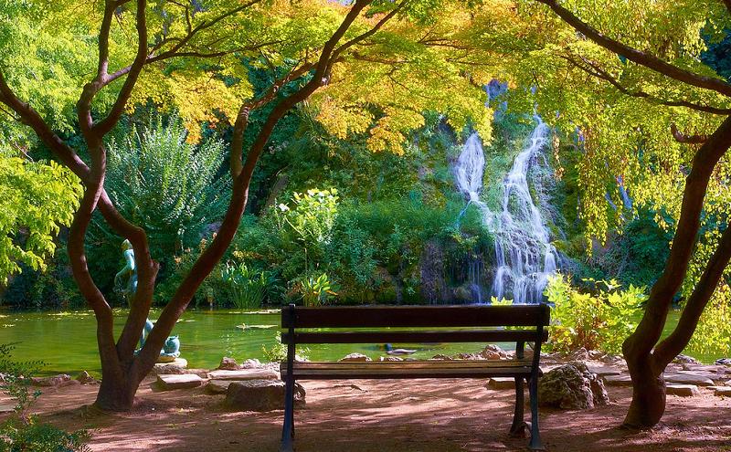 Cachoeira na Ilha Margaret