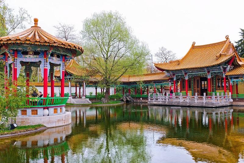 Jardim Chinês em Zurique