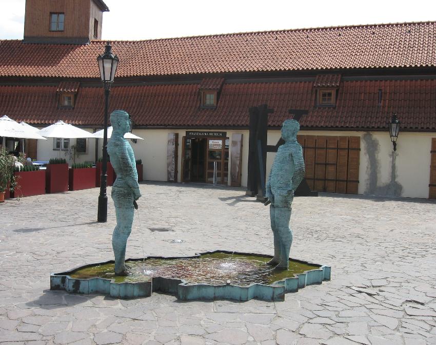 Museu Franz Kafka em Praga na República Checa