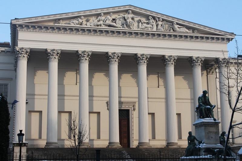 Museu Nacional Húngaro em Budapeste