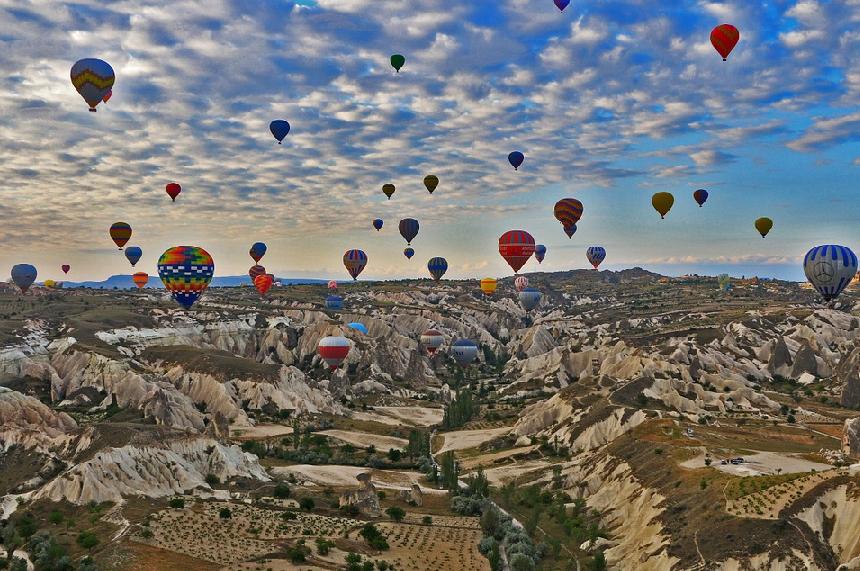 Onde ficar na Capadócia na Turquia?