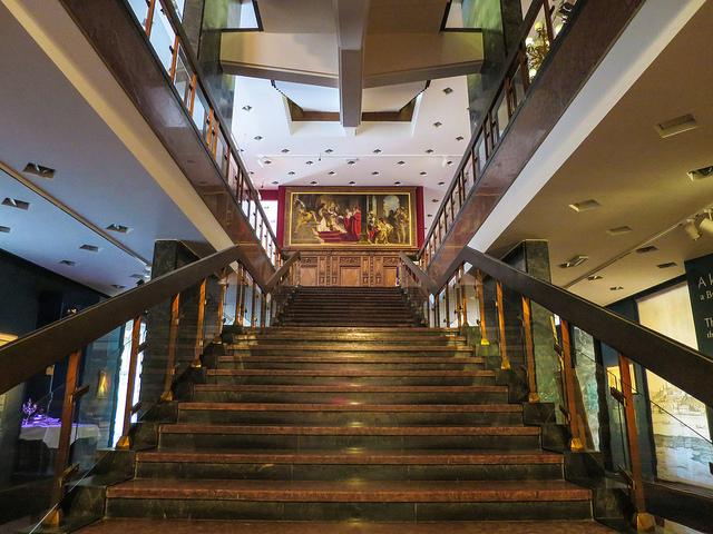Interior do Museu de História de Budapeste