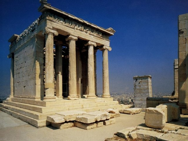 Templo de Atena Nike em Atenas | Grécia