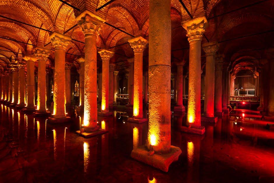 Cisterna da Basílica em Istambul