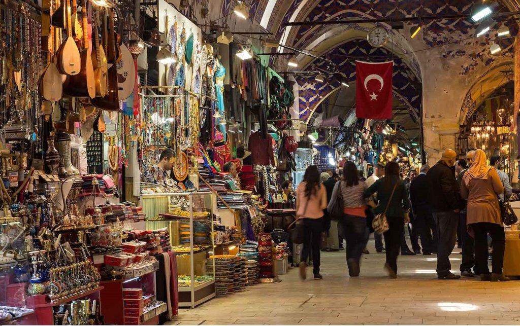 Grand Bazaar para fazer compras em Istambul