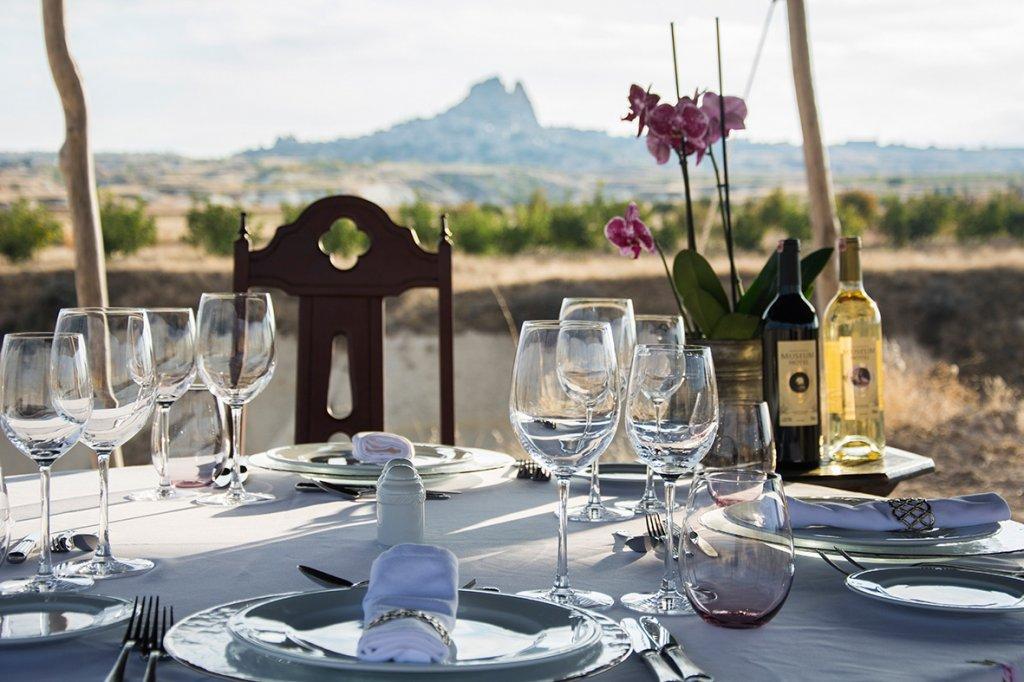 Jantar romântico na Capadócia