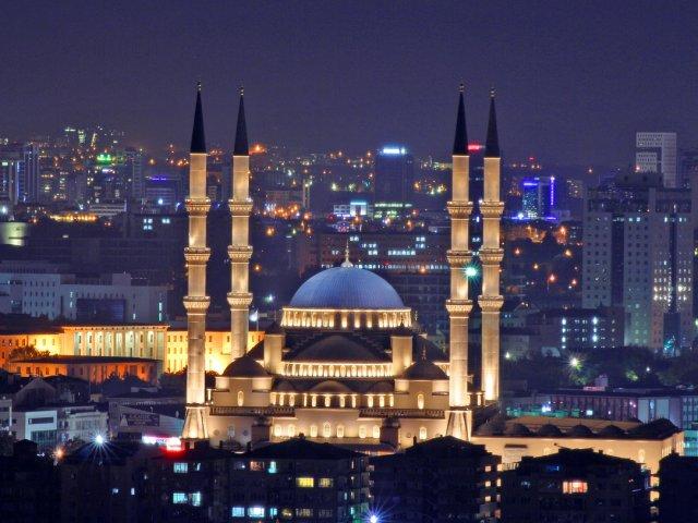 Mesquita Kocatepe em Ancara | Turquia