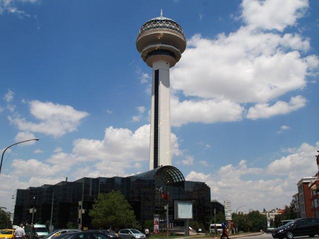 Complexo da torre Atakule em Ancara | Turquia