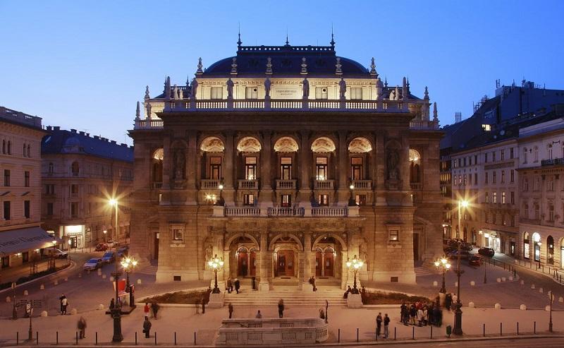 História da Casa de Ópera de Budapeste