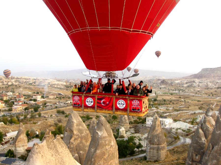 Outras dicas sobre voo de balão na Capadócia na Turquia