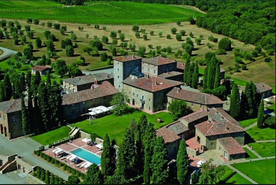 Vinícola Borgo Scopeto Relais na Itália