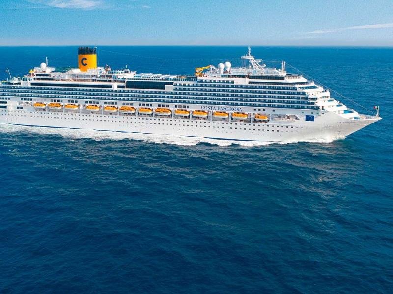 Navio do Costa Fascinosa