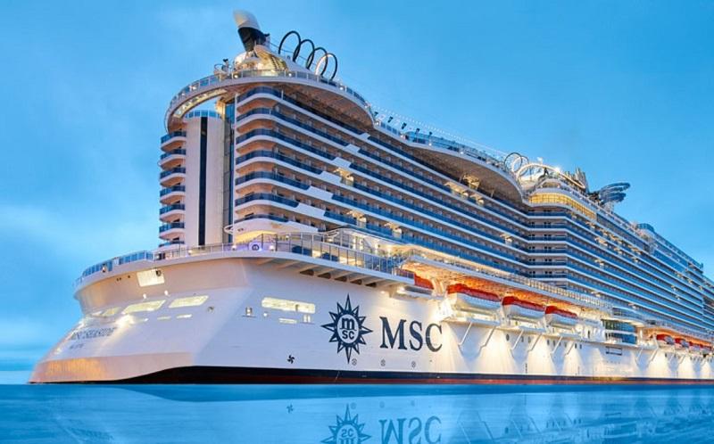 Navio do MSC